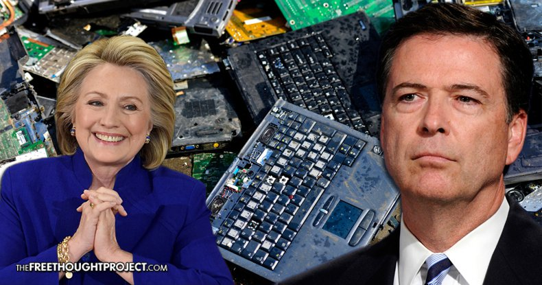FBI Busted For Allowing Clinton's Aides' Laptops to be Destroyed